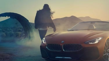 BMW Concept Z4 leaked 2