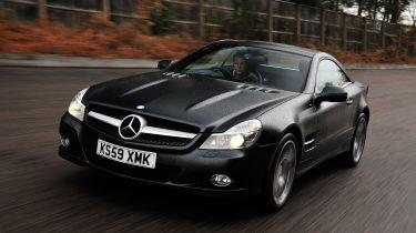 Best cheap convertibles - Mercedes SL