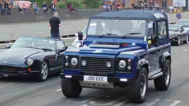 Coventry Motofest 2016 - V8 Defender