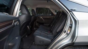 Lexus RX 450h rear seats