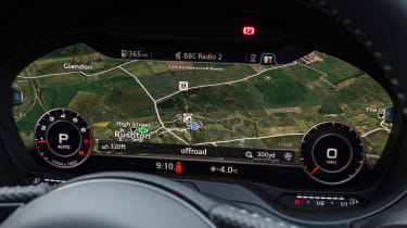 Audi A3 digital dash