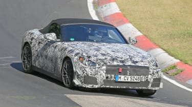 BMW Z4 spy shots