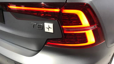 New Volvo S60 tail lights