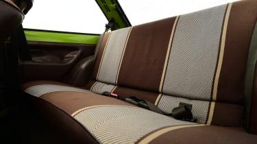 Ford Fiesta Mk1 - rear seats