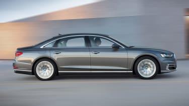 New Audi A8 - A8 L side