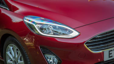 Ford Fiesta diesel review - headlight