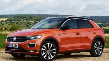 vw t-roc static