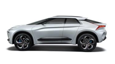 Mitsubishi e-Evolution concept - side
