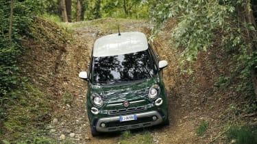 Fiat 500L - off-road