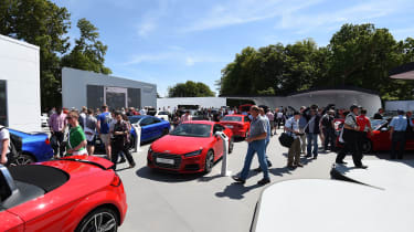 Audi stand at Goodwood