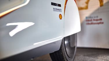 Shell Project M city car - rear wheel