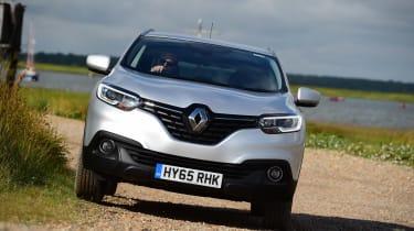 MG GS vs rivals - Renault Kadjar front