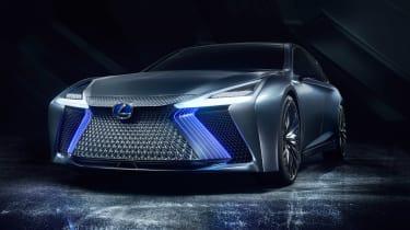Lexus LS+ Concept - front