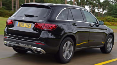 Mercedes GLC 220 d  - rear tracking