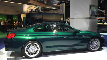 """<!--StartFragment--><span face=""""Calibri, Verdana, Helvetica, Arial"""">Alpina sold out of its Edition 50 models first revealed at the Geneva Motor Show. Six months later, the firm debuted the B6 BiTurbo in Edition 50 trim – a special vers"""