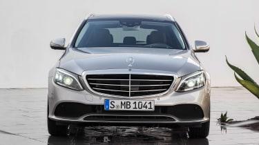 Mercedes C-Class Estate - full front