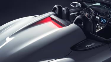 Porsche 718 Boxster Spyder - no roof