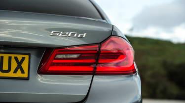 BMW 520d M Sport - rear light detail