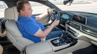 BMW 7 Series 760Li - Steve driving