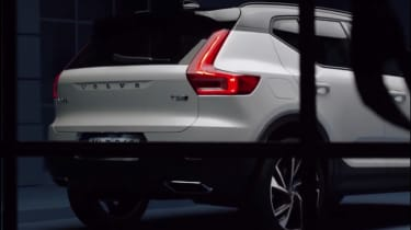 Volvo XC40 leaked - rear