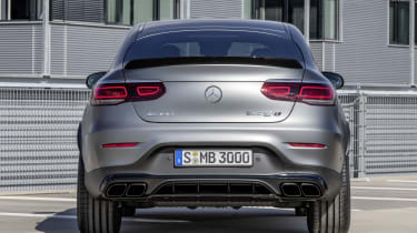 Mercedes-AMG GLC 63 S - boot static