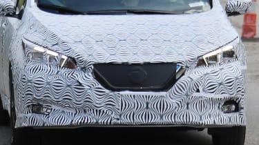 2018 Nissan Leaf spy shot front