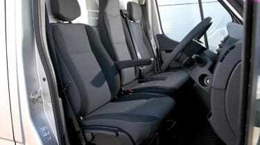 The cab is very well constructed with durable materials used throughout.