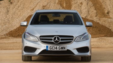 Used Mercedes E-Class - full front
