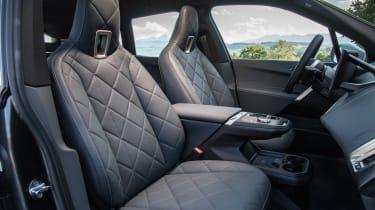 BMW iX - front seats