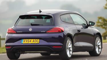 VW Scirocco 1.4 TSI rear action