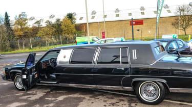 Donald Trump Cadillac