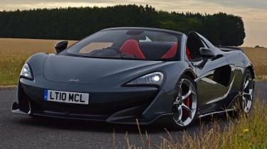 McLaren 600LT Spider - front 3/4 static