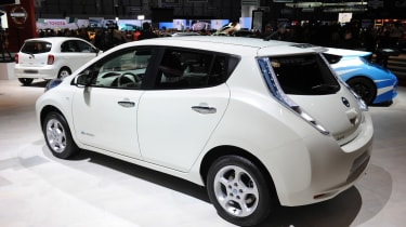 Used Nissan Leaf - rear