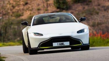 Aston Martin Vantage - full front cornering