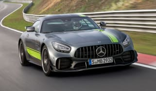 Mercedes-AMG GT R Pro - front action