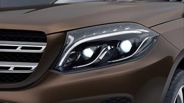 Mercedes GLS Grand Edition headlamp