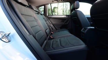 Volkswagen Tiguan - rear seats