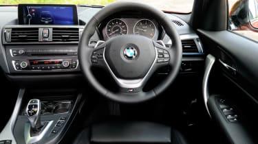 BMW 125d M Sport dash