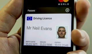 Digital driving licence
