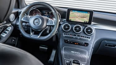 Mercedes AMG GLC 63 S - interior