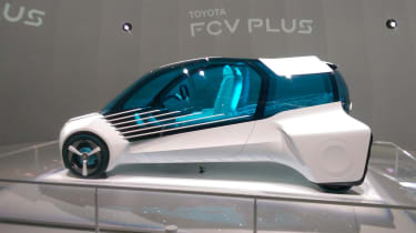Toyota FCV in Tokyo