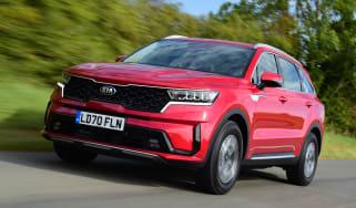 Kia Sorento - front driving