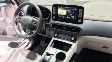 Hyundai Kona electric interior