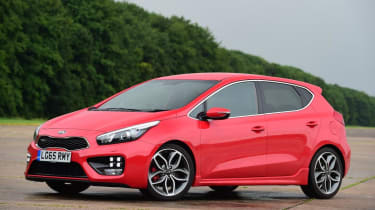 Used Kia Cee'd - front static