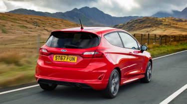 New Ford Fiesta ST-Line - rear