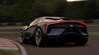Honda Sports Vision Gran Turismo on racetrack