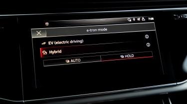 Audi Q7 60 TFSI e - infotainment