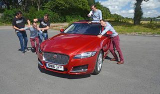 Jaguar XF Long-Term Test - header