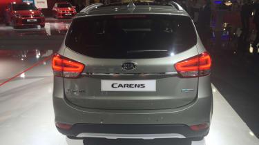 Kia Carens - Paris rear 3