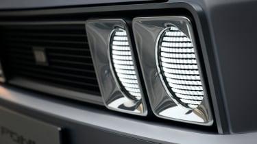 Hyundai Pony - headlight